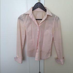 Tops - Custom made French cuffed shirt P00